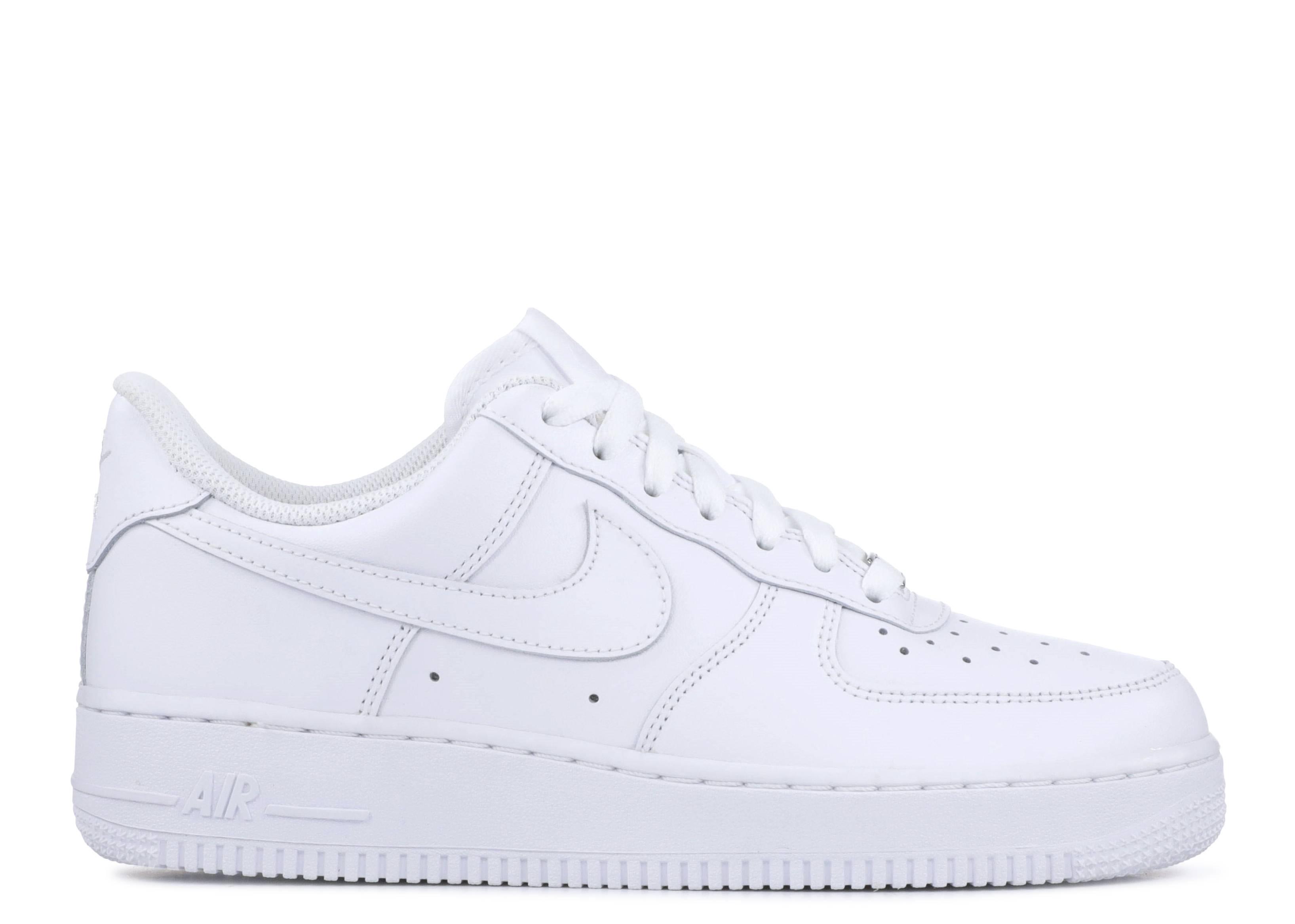 393c2c3698bc Wmns Air Force 1 07 - Nike - 315115 112 - white white