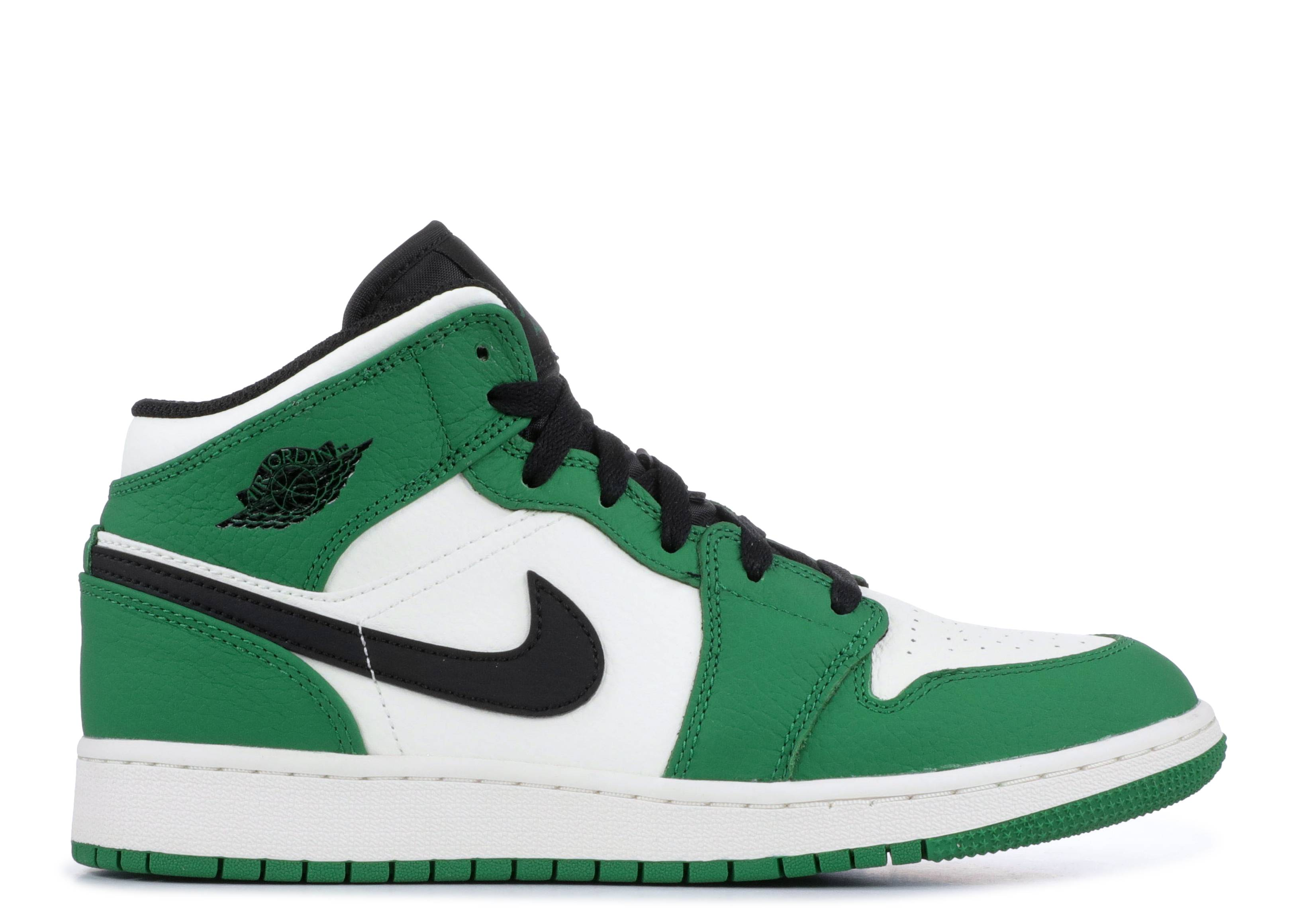 "air jordan 1 mid se (gs) ""Pine Green"""