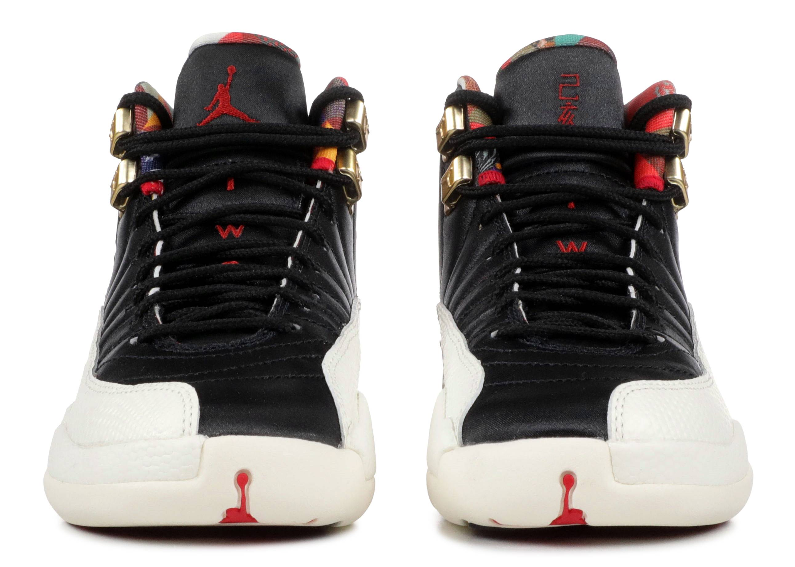 b800bcec9817 Air Jordan 12 Retro Cny (gs) - Air Jordan - bq6497 006 - black true  red-sail