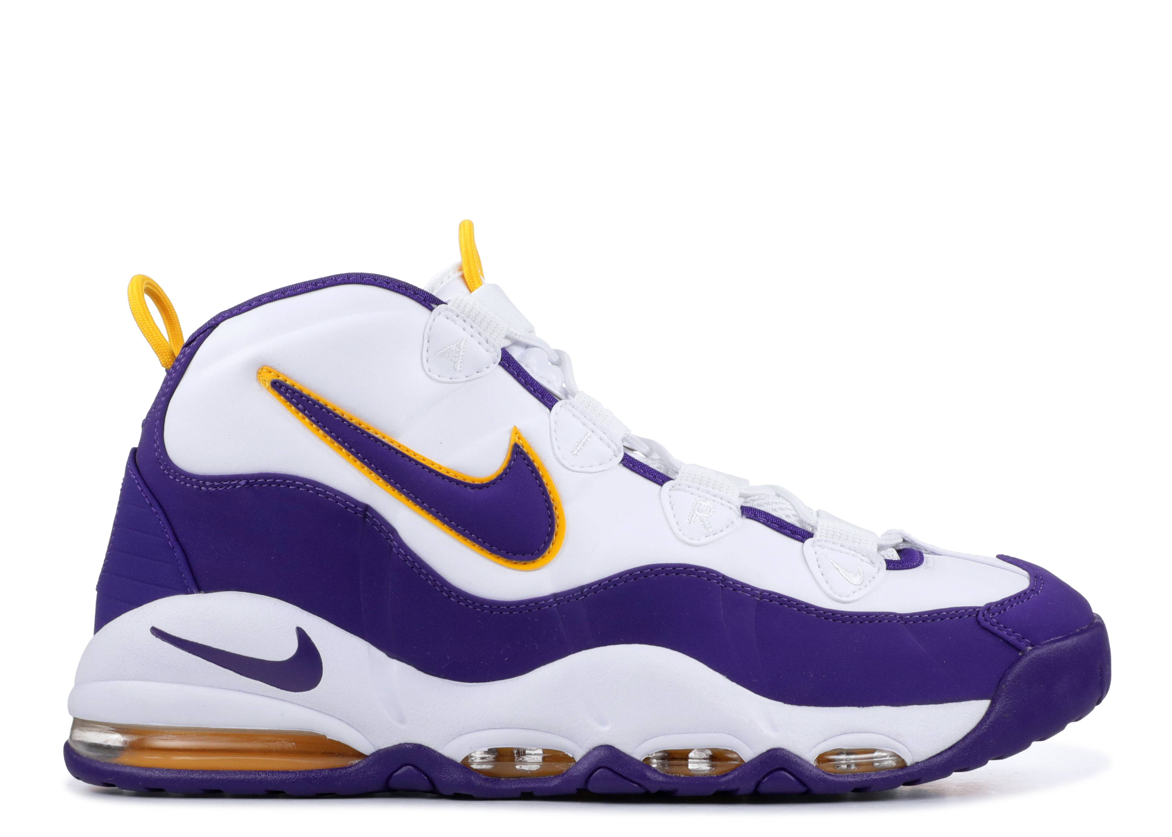 "air max uptempo ""Los Angeles Lakers"""