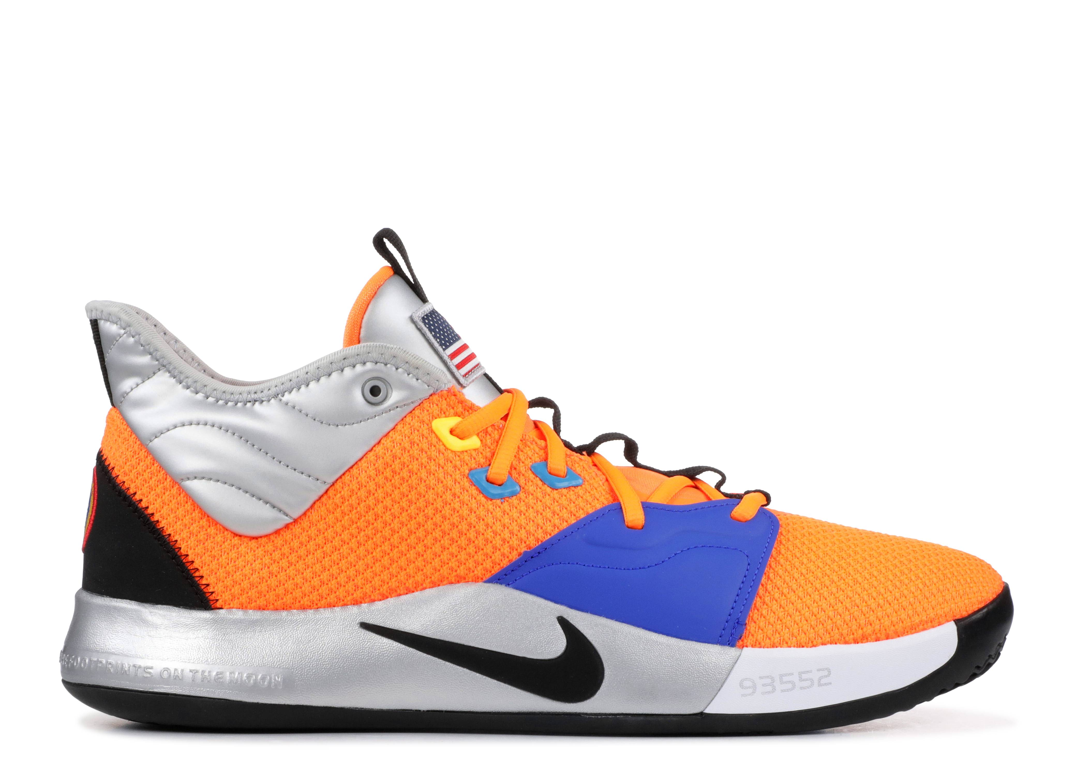 innovative design 3d2d7 0d284 Pg 3 Nasa - Nike - ci2666 800 - total orange black-metallic silver ...