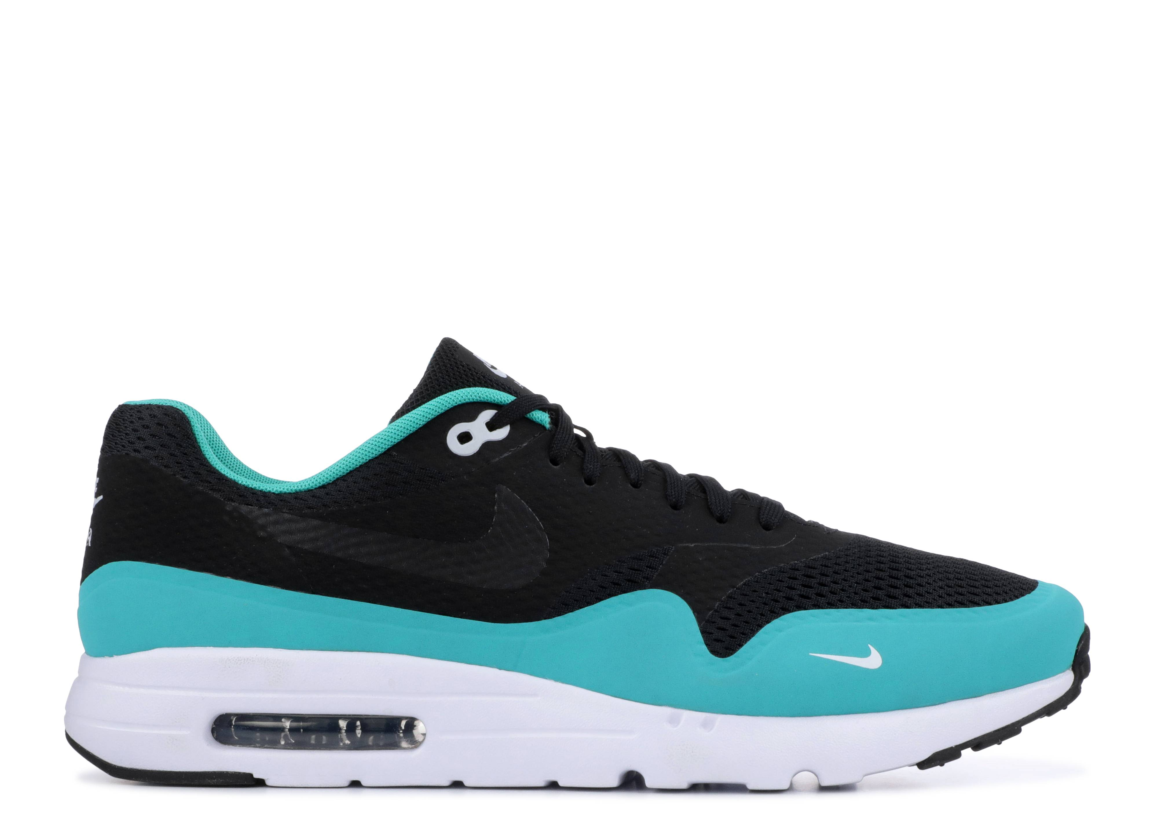 outlet store 9c99c 6a737 Nike Air Max 1 Ultra Essential - Nike - 819476 003 - black/clear ...
