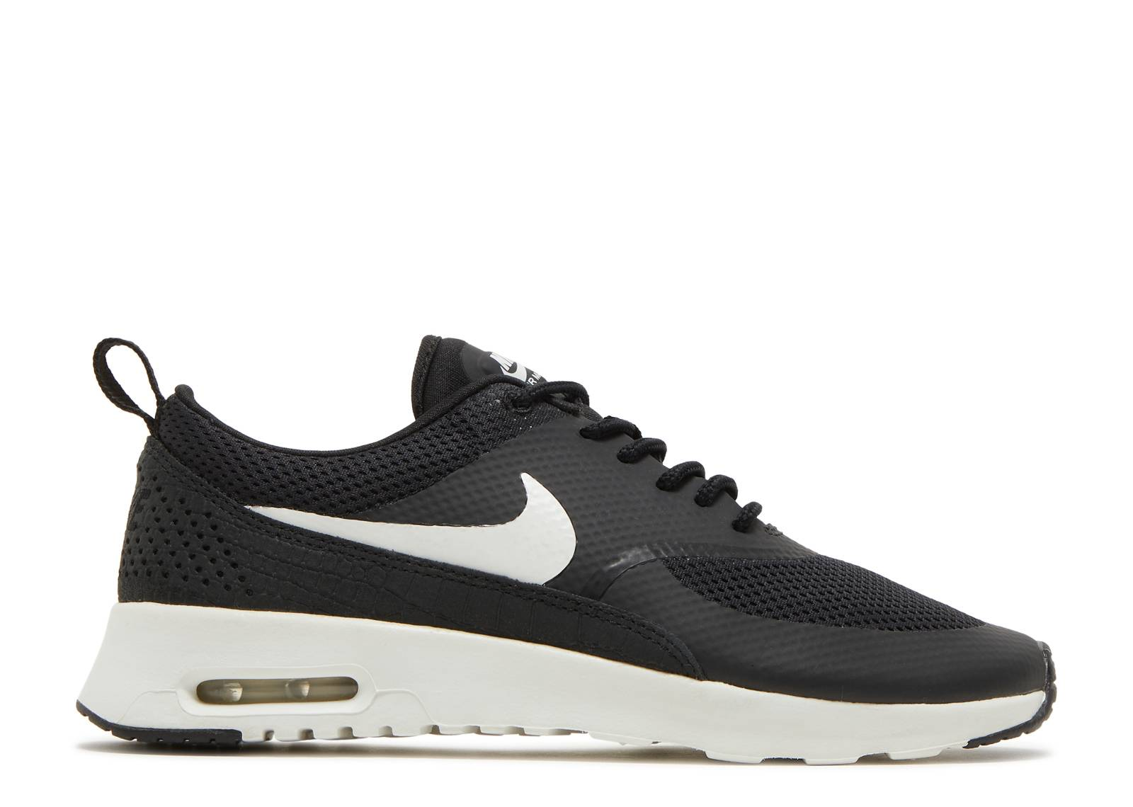 "womens air max thea ""Black Summit White"""