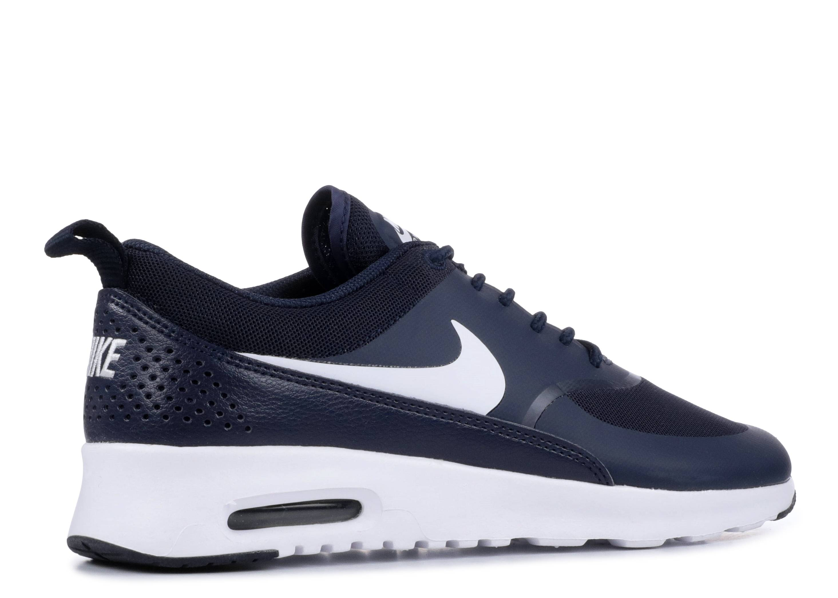 Womens Nike Air Max Thea White Black White Trainers Frome
