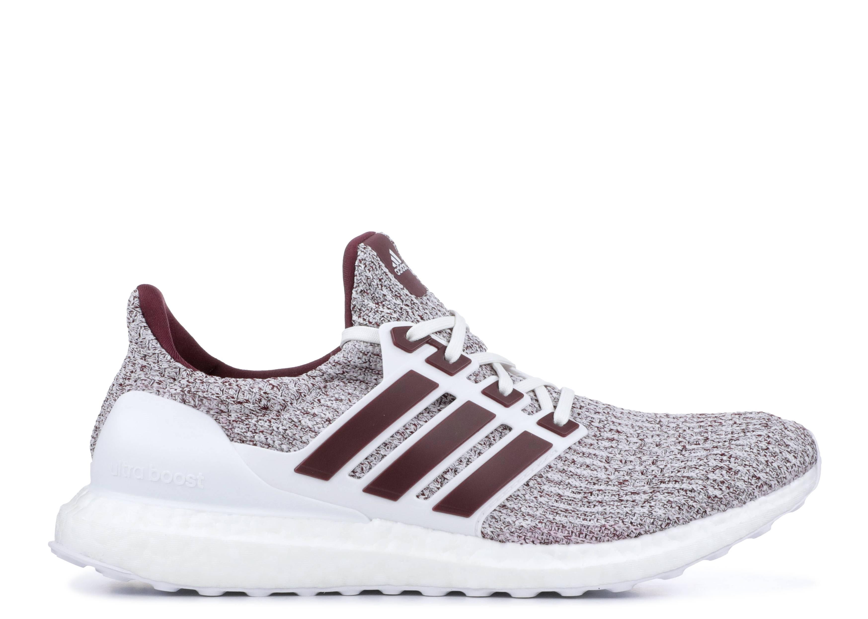28b60ce00 Ultraboost 4.0 - Adidas - ee3705 - white burgundy