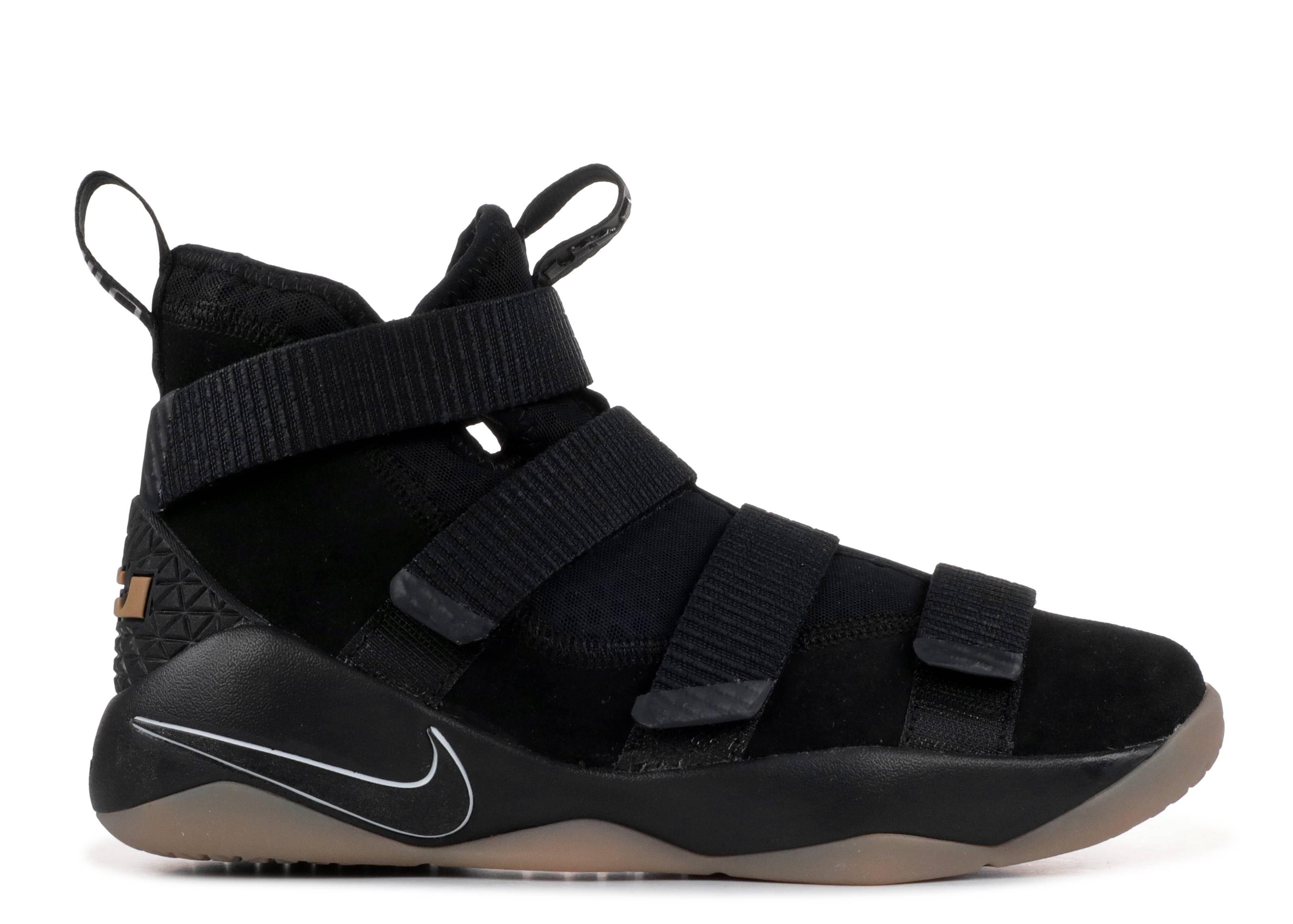 b73a9617c6ca Nike Lebron Soldier Xi - Nike - 918369 007 - black gum