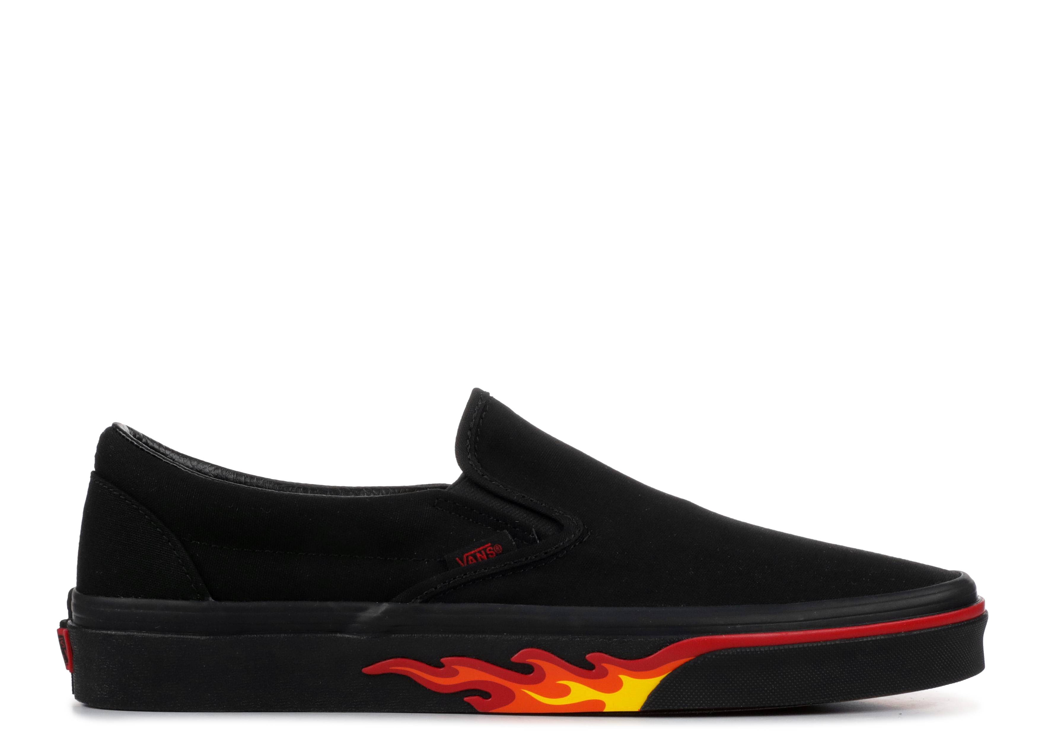 "classic slip-on ""flame wall"""