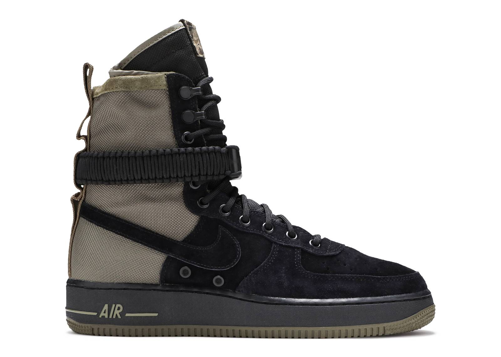 4b8090808b Sf Af1 - Nike - 864024 004 - black/black - medium olive | Flight Club