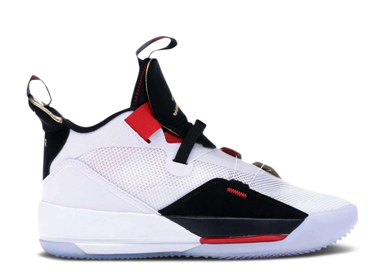 15cb310bc0 Nike Air Jordan Xxxiii Pf - Air Jordan - bv5072 100 - white/metallic ...