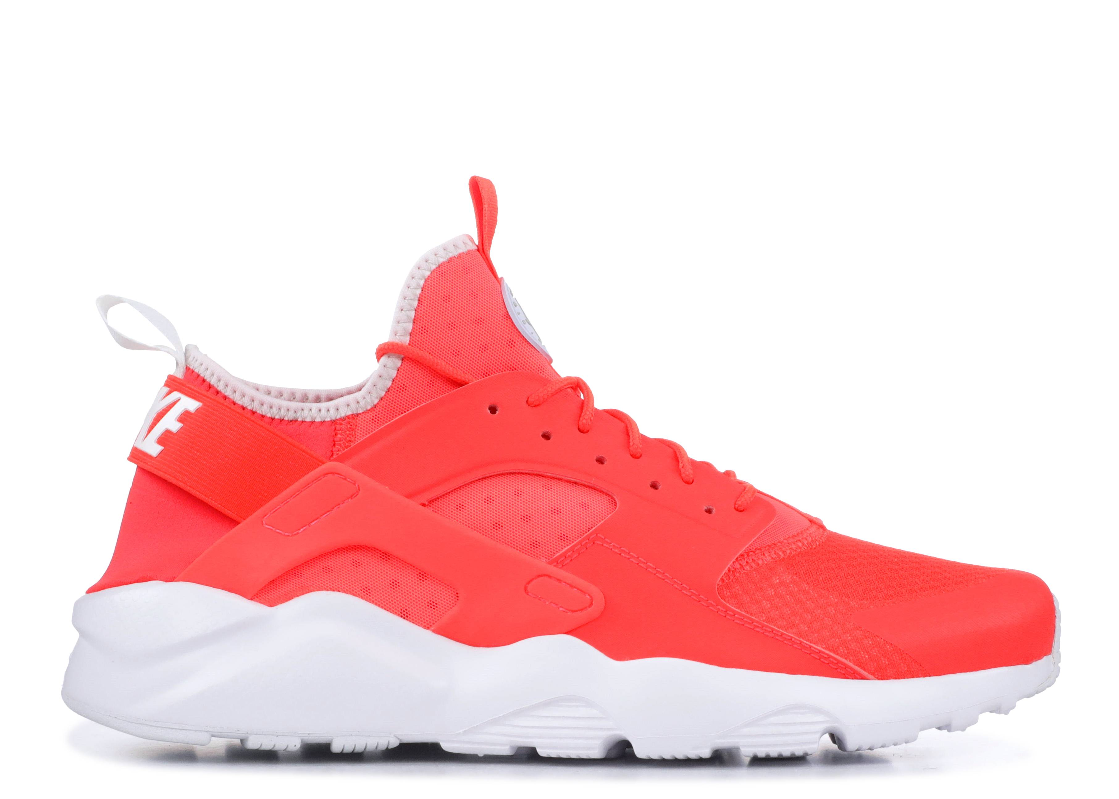 "nike huarache run ultra ""Bright Crimson"""
