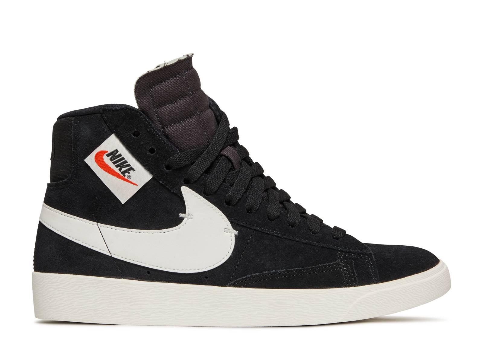 Nike Wmns Blazer Mid Rebel Xx - Nike - bq4022 001 - black/summit ...
