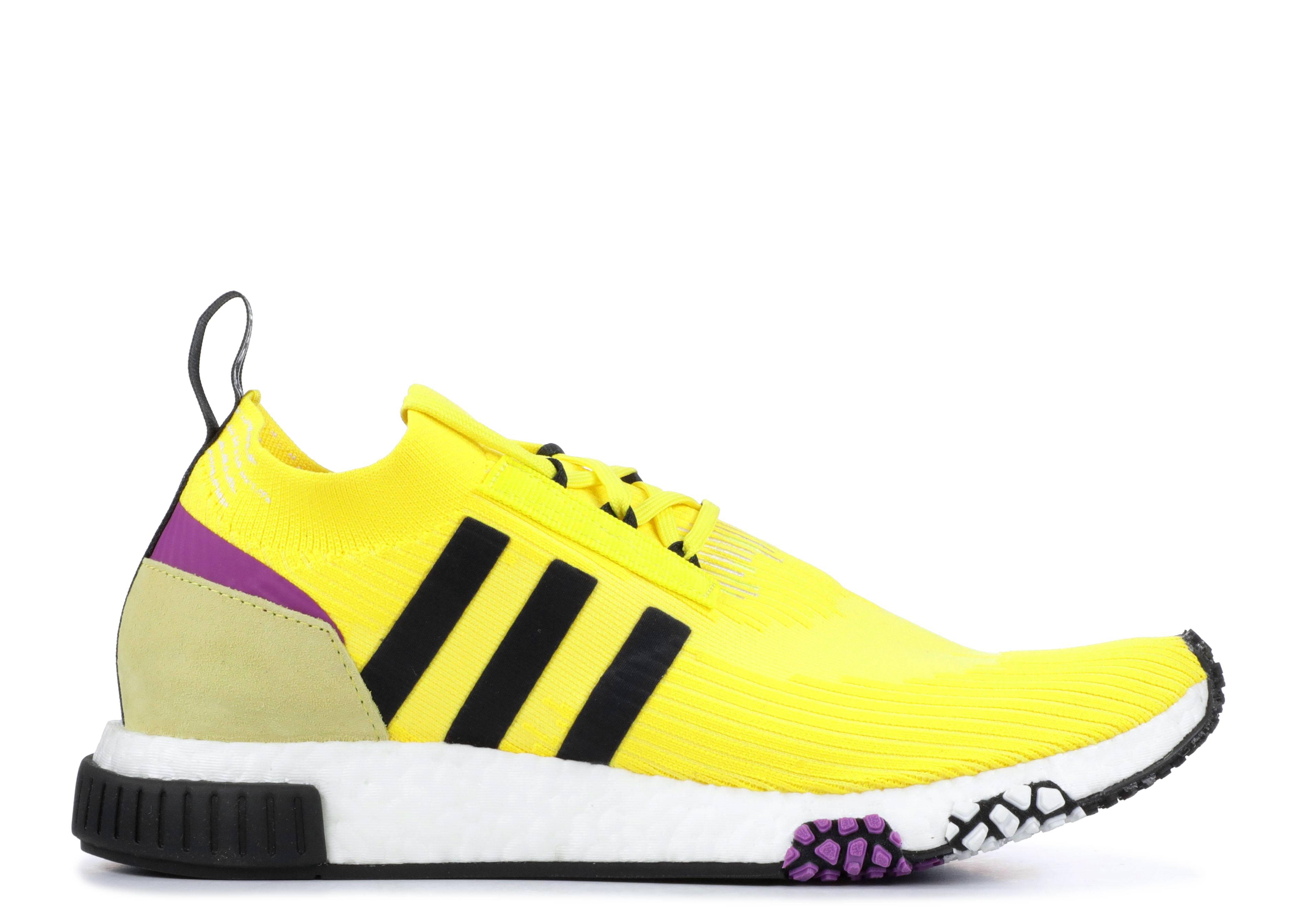 355eb882f9a1 Adidas Nmd Racer Primeknit Shoes - Adidas - b37641 - solar yellow core black  shock purple