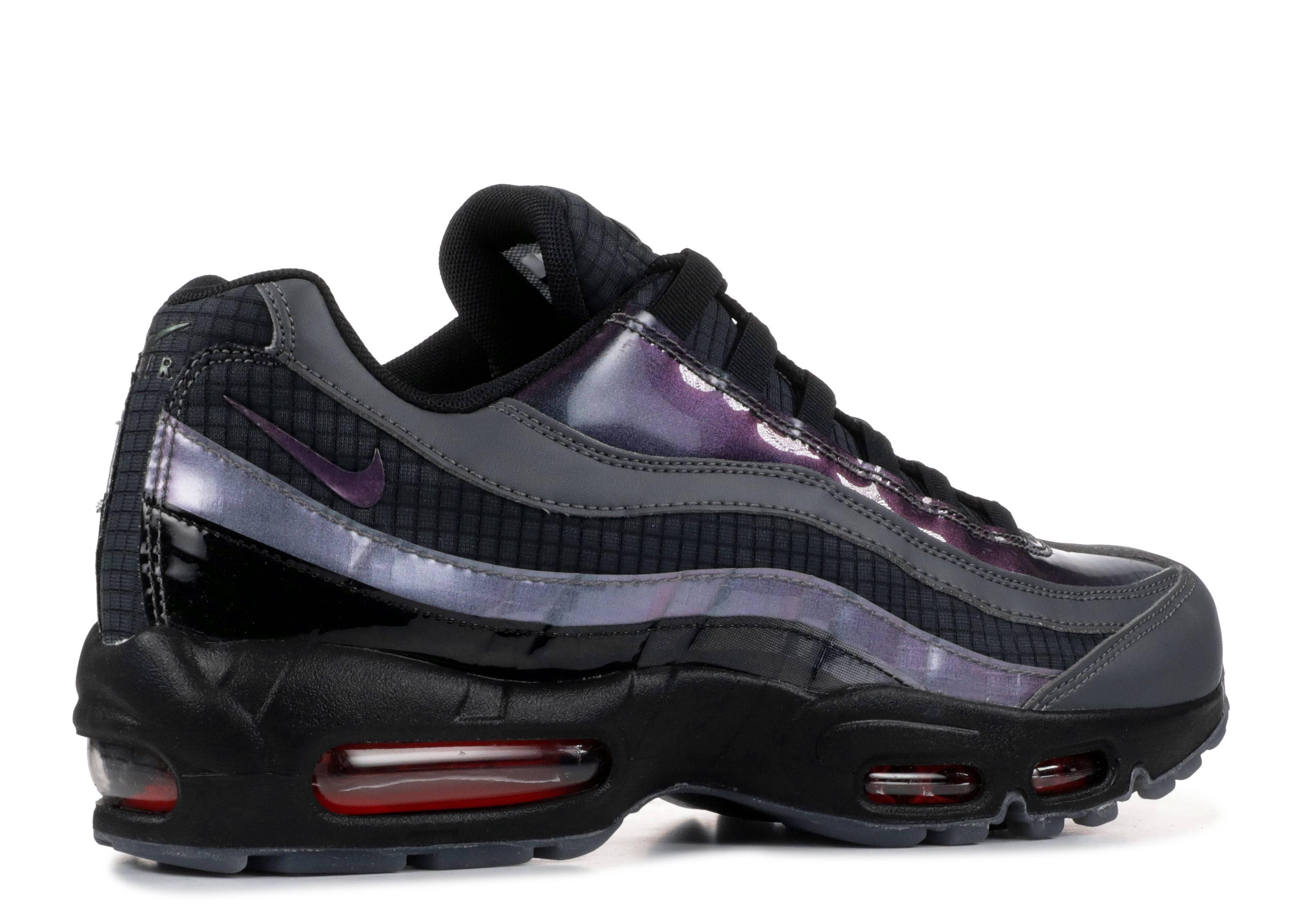 Nike Air Max 95 Ember Glow Black Dark Grey Men Running