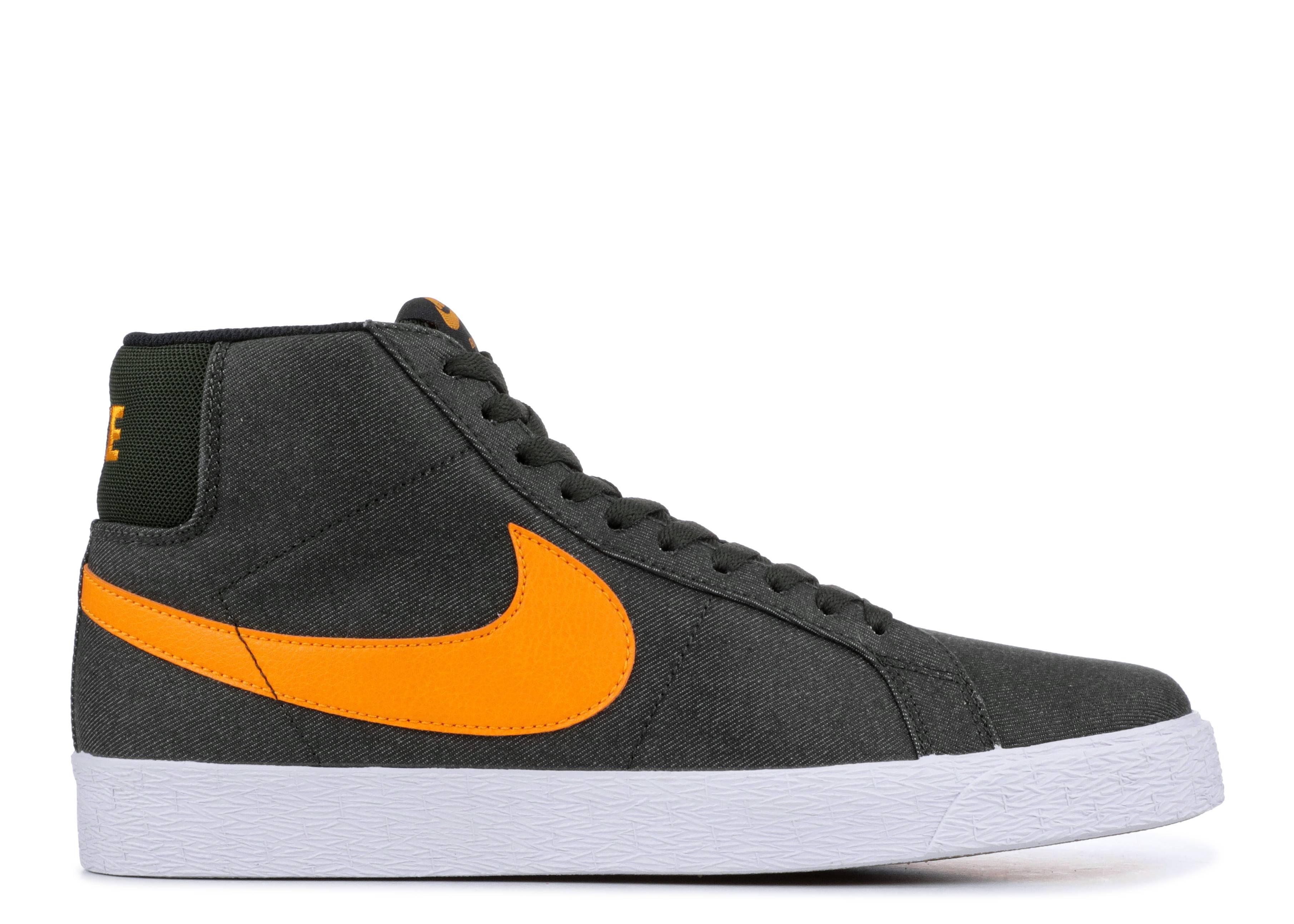 68759421a282 Nike Sb Zoom Blazer Mid - Nike - 864349 308 - sequoia black-circuit ...