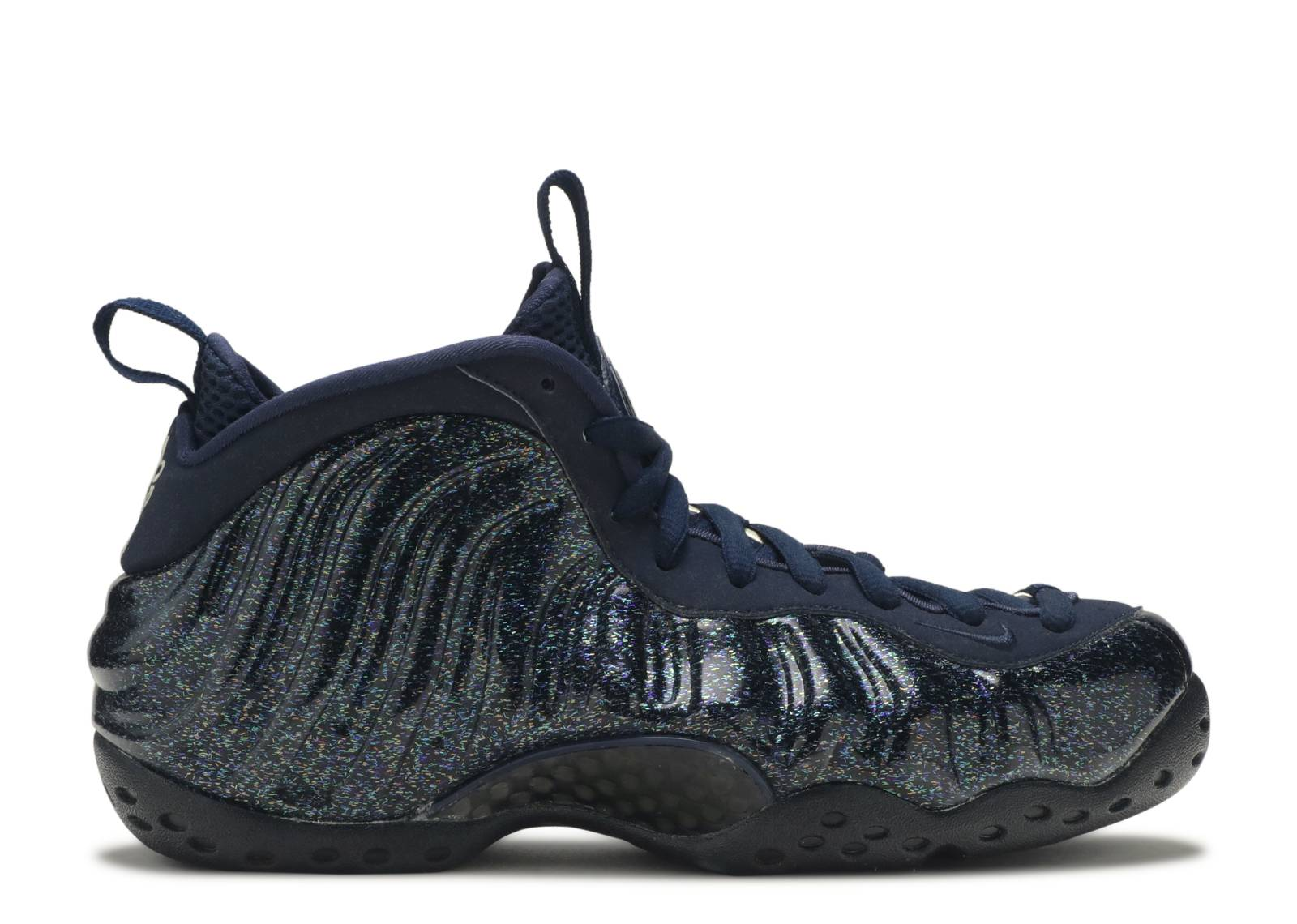 "w's air foamposite one ""obsidian glitter"""