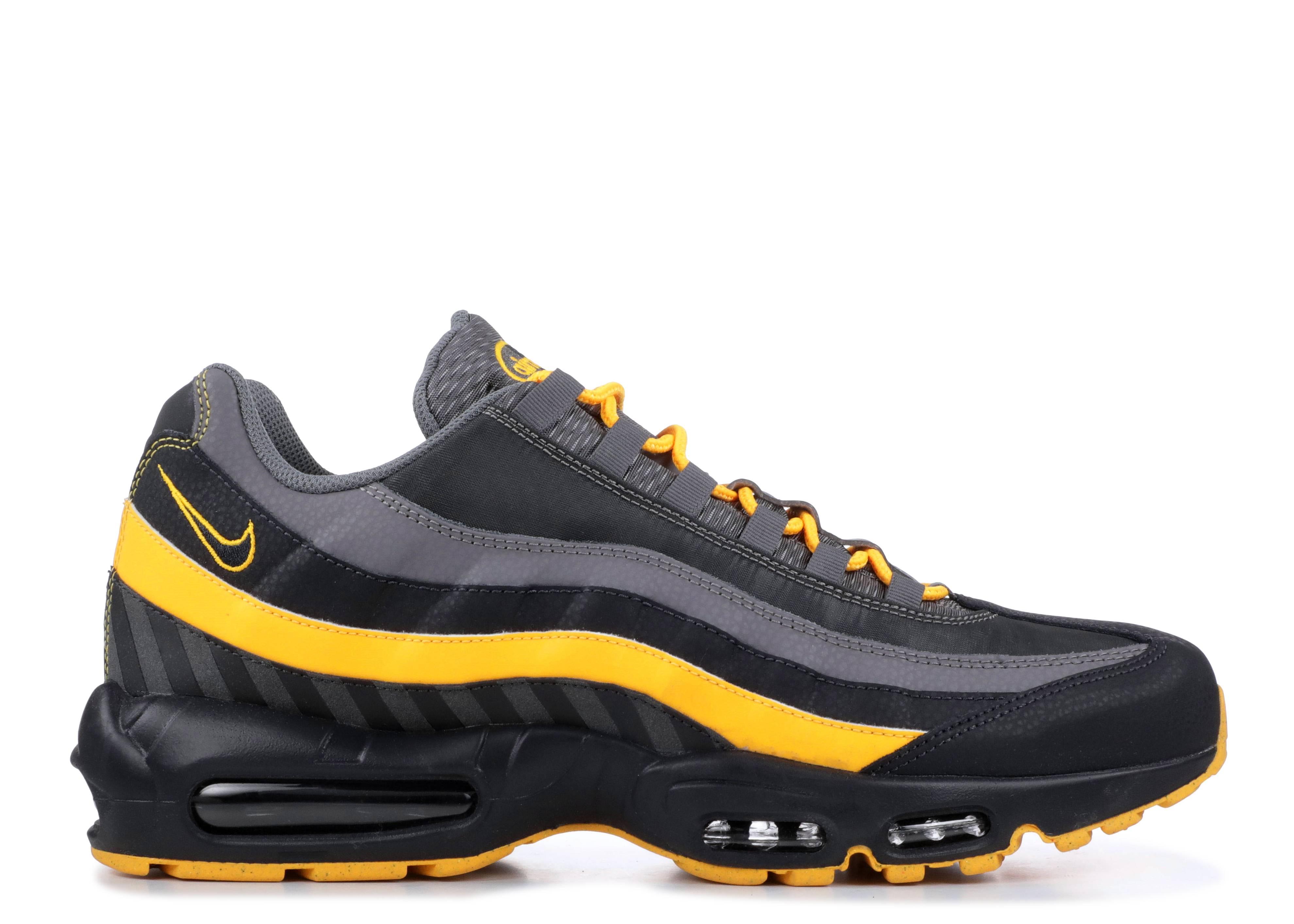 Mens Nike Air Max 95 Shoe Oil Grey Laser Orange Gun Smoke Bv6064 001 Size 10