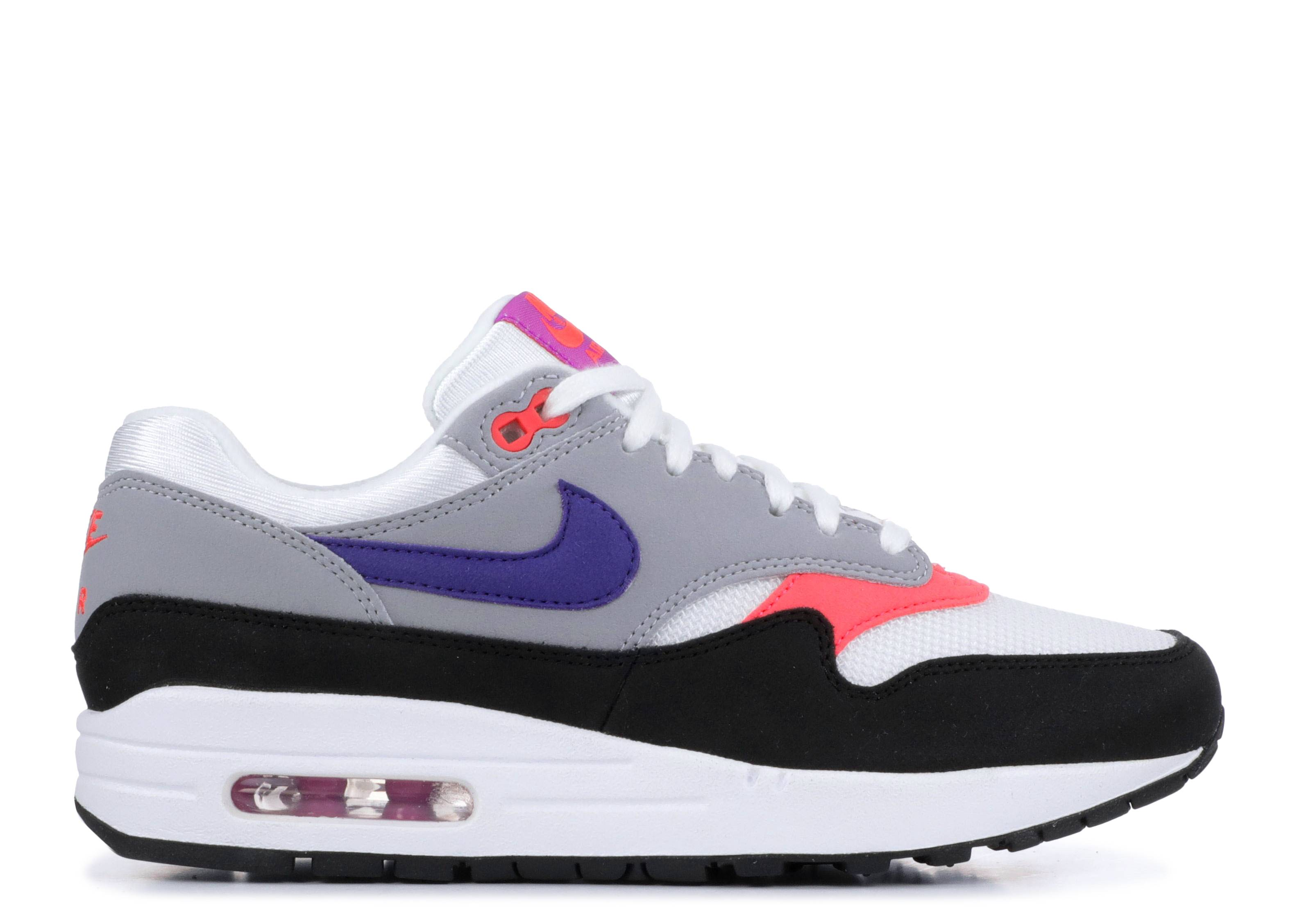 47f541f96e Wmns Air Max 1 - Nike - 319986 114 - white/court purple-wolf grey ...