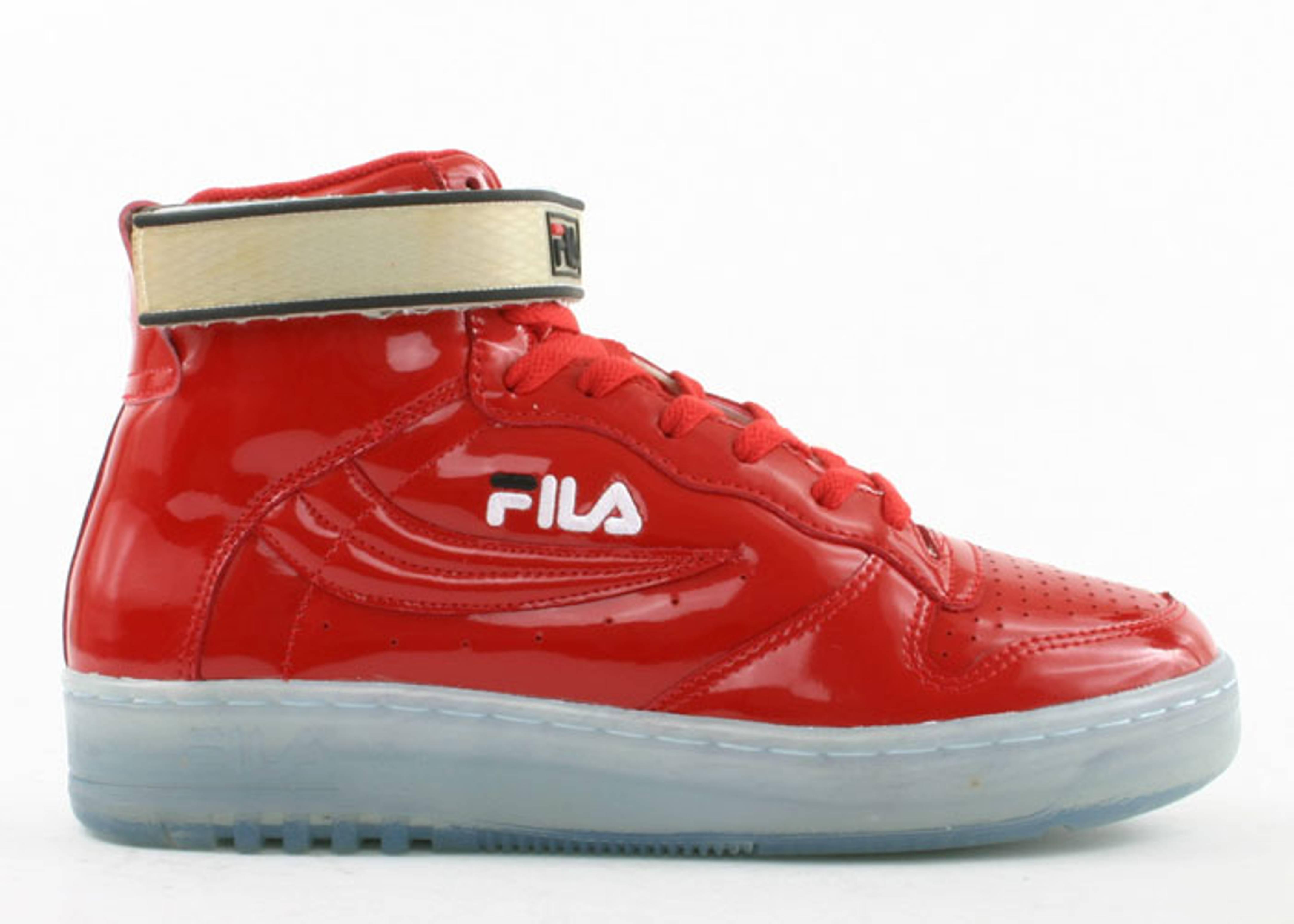fbdc0a113fbd Fx-100 Hi Clear - Fila - 7bjnu1759 - red patent