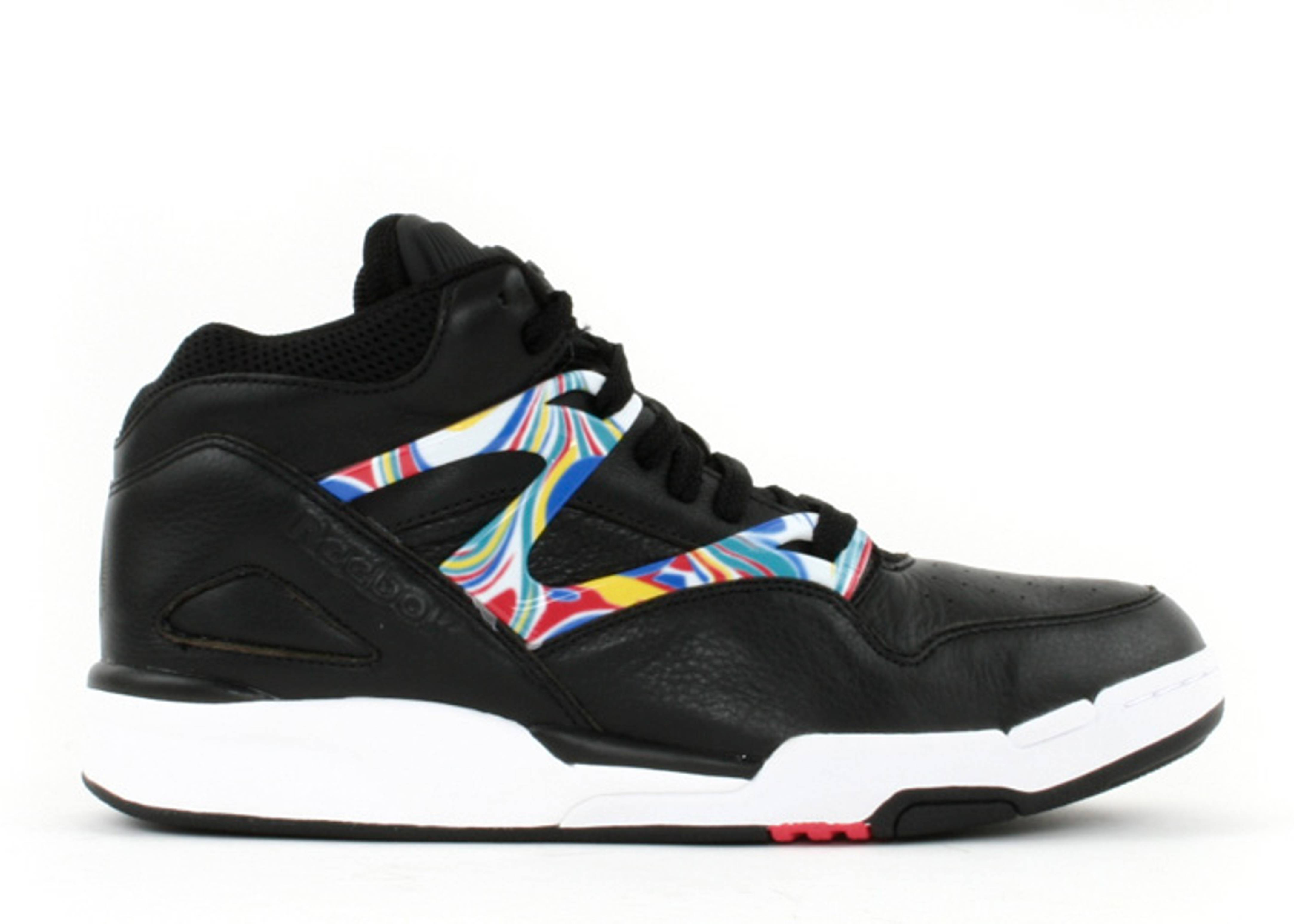 high reebok omni pump trainers top lite noir yYbfg76