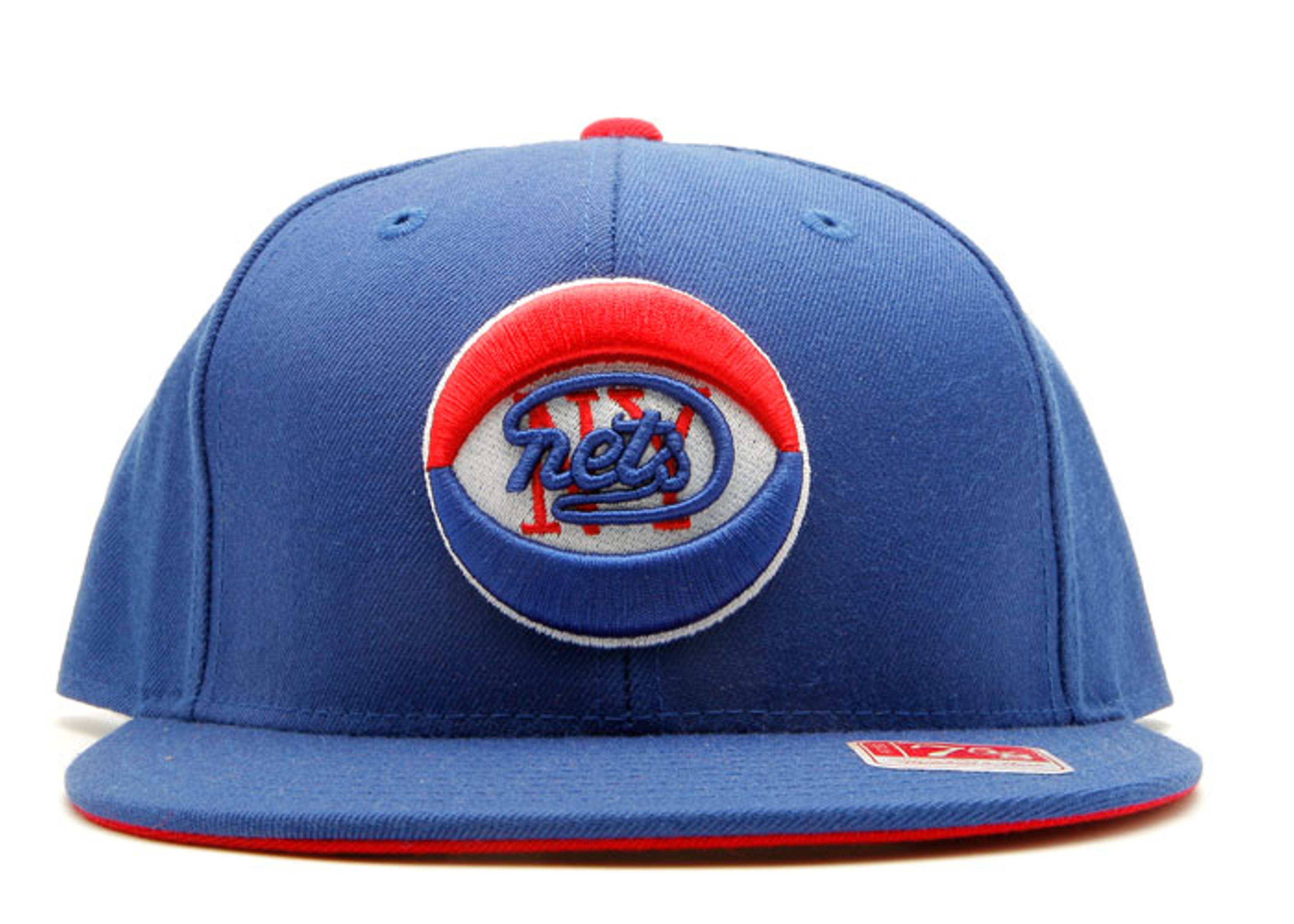 new york nets throwback fitted