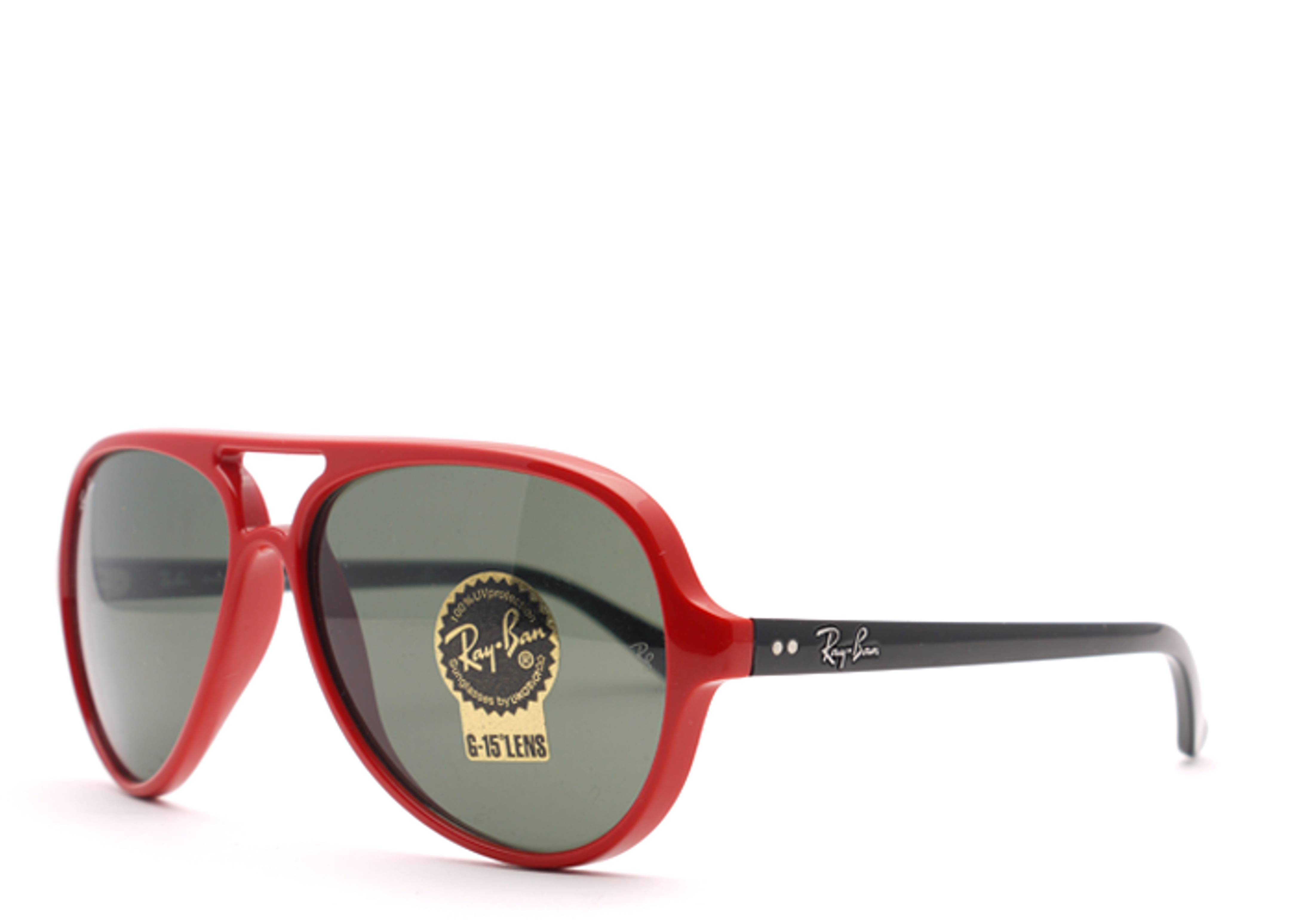 Ray Ban Cats 5000 Red