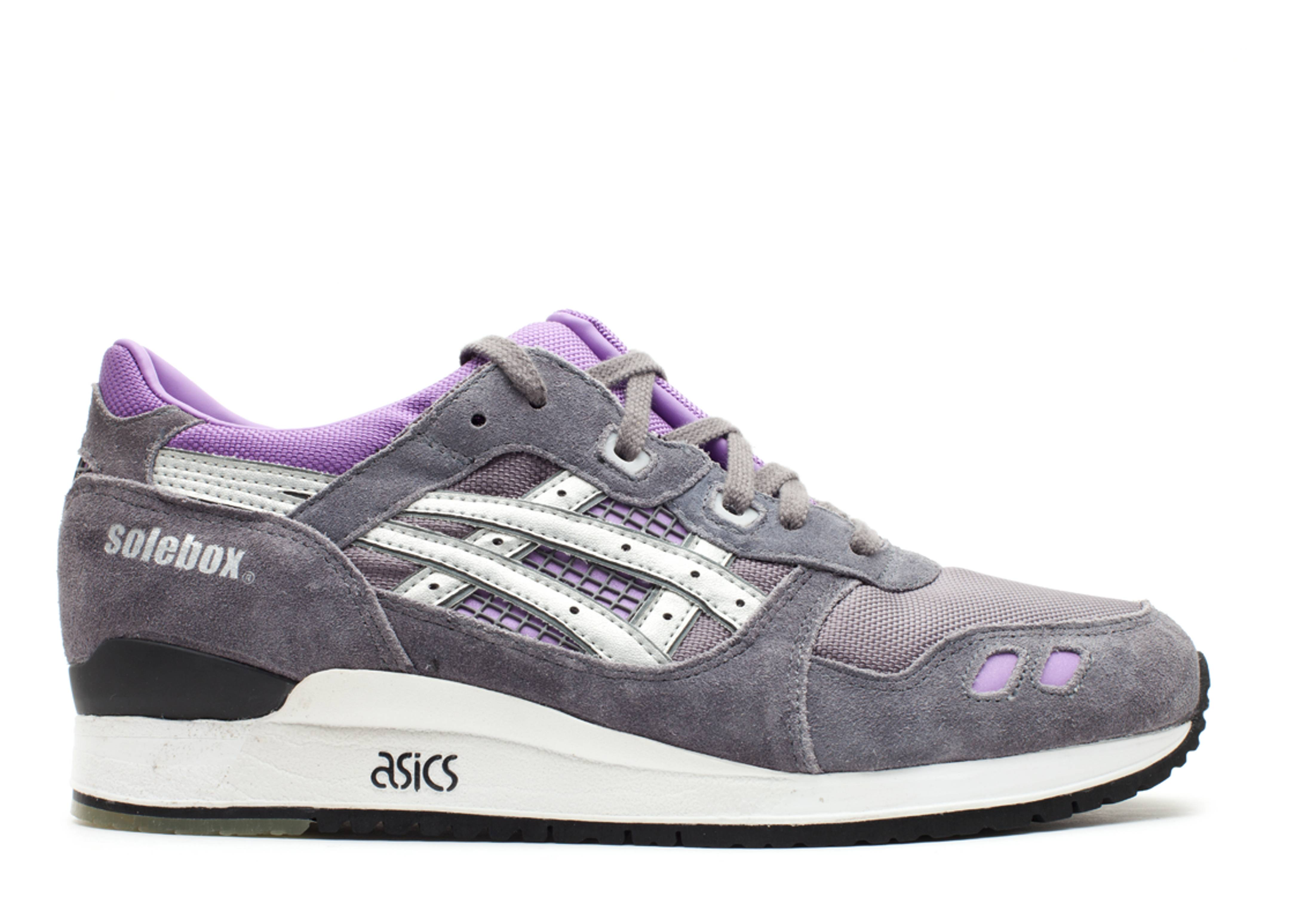 Asics Outdoor Gel Lyte 3 Purple Silver