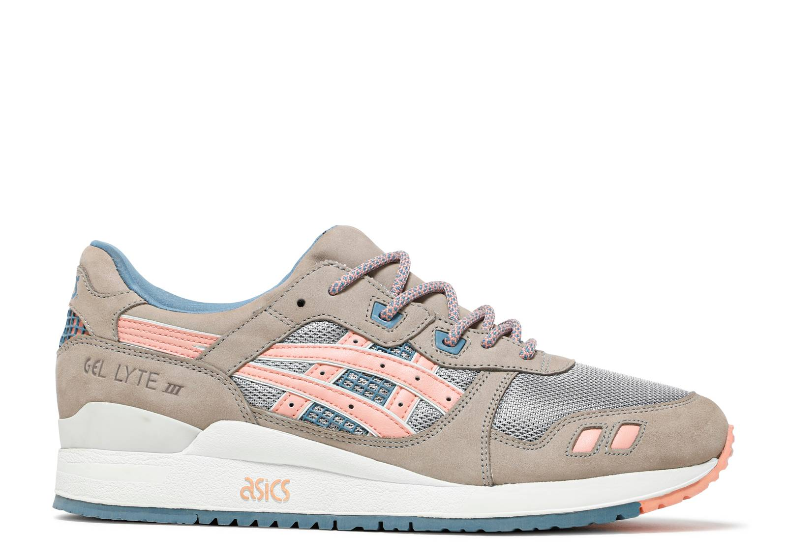 gel lyte 3 grey salmon. Black Bedroom Furniture Sets. Home Design Ideas