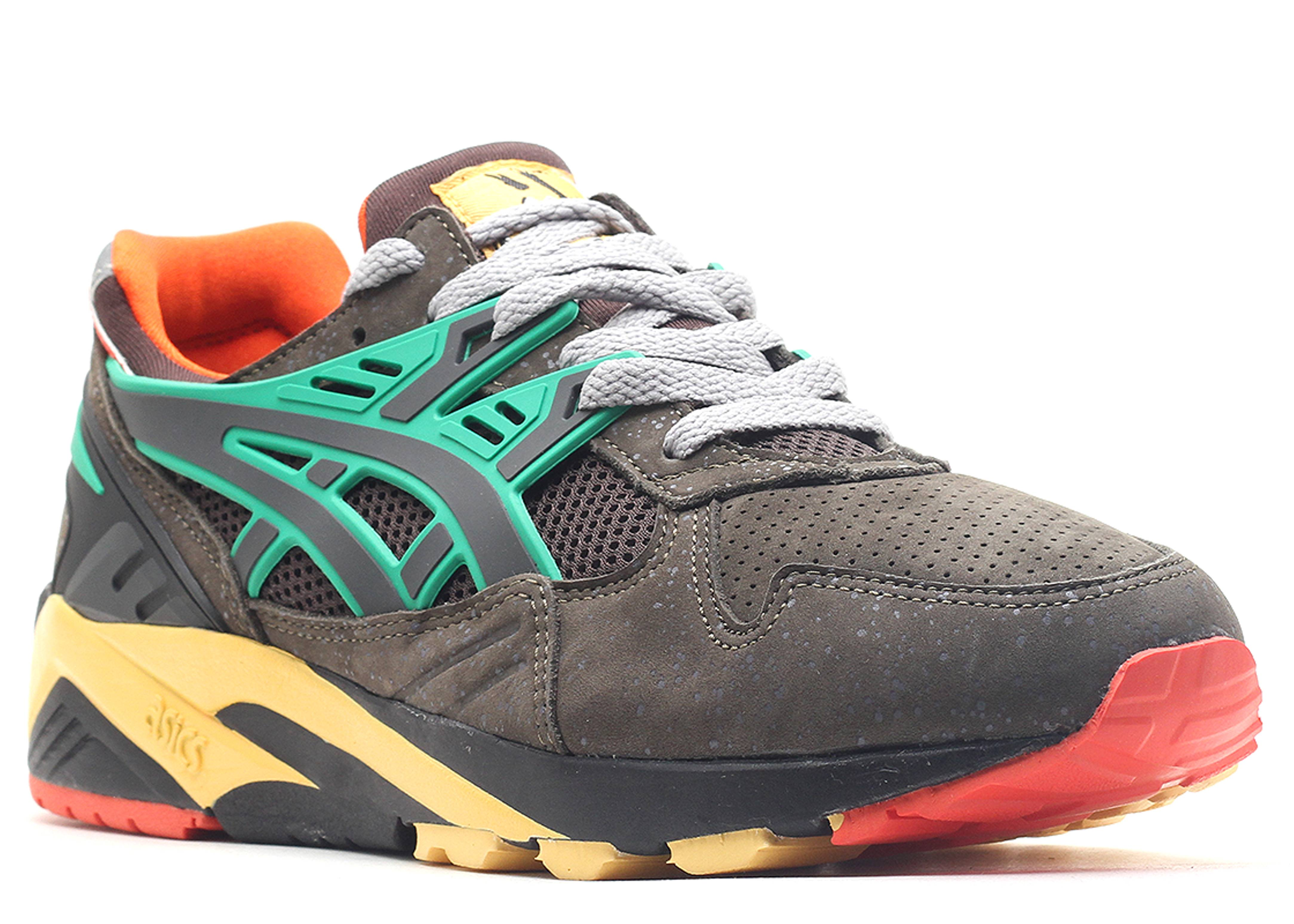 gel kayano trainer quot packer shoes quot charcoal charcoal