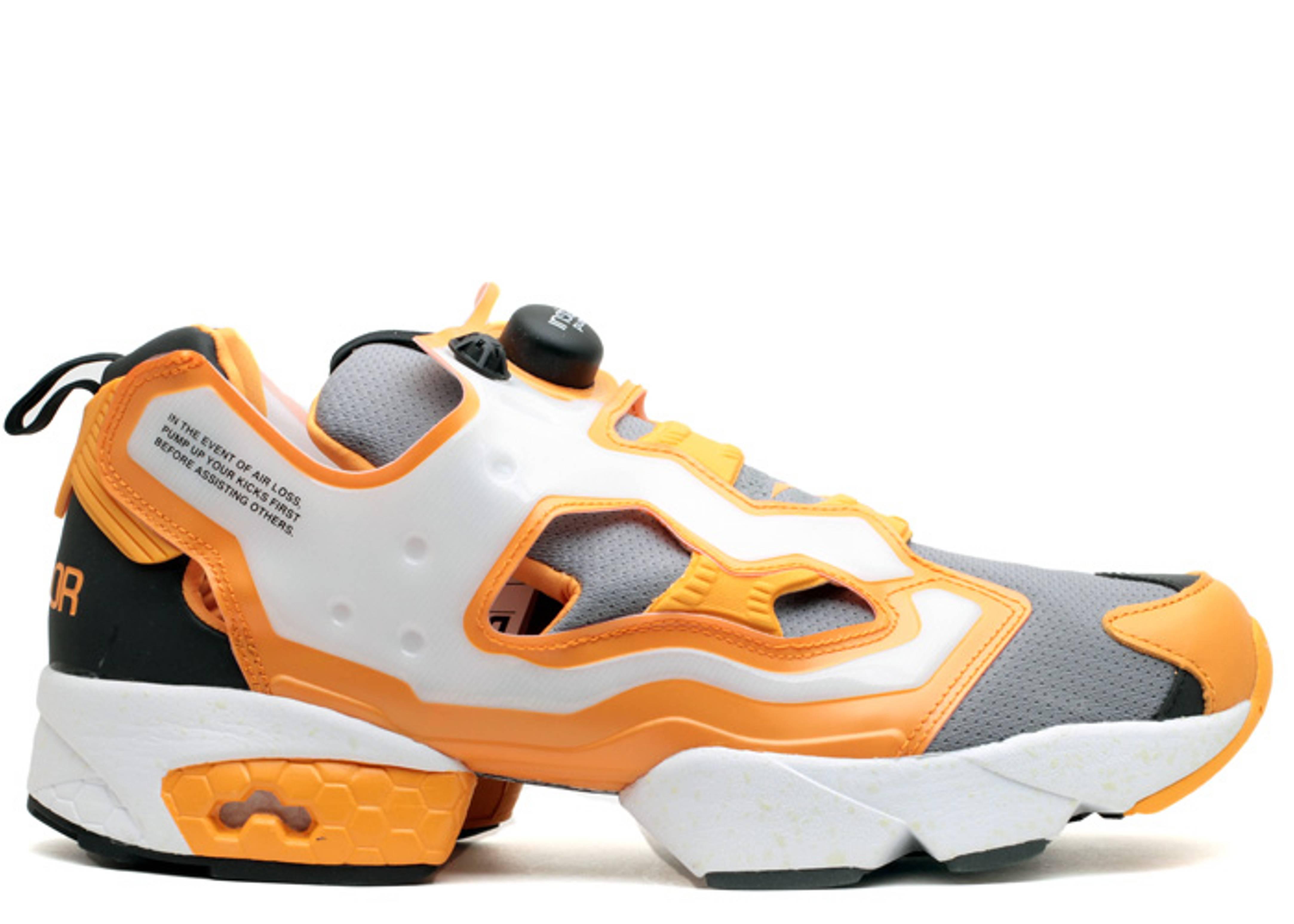 reebok insta pump fury orange