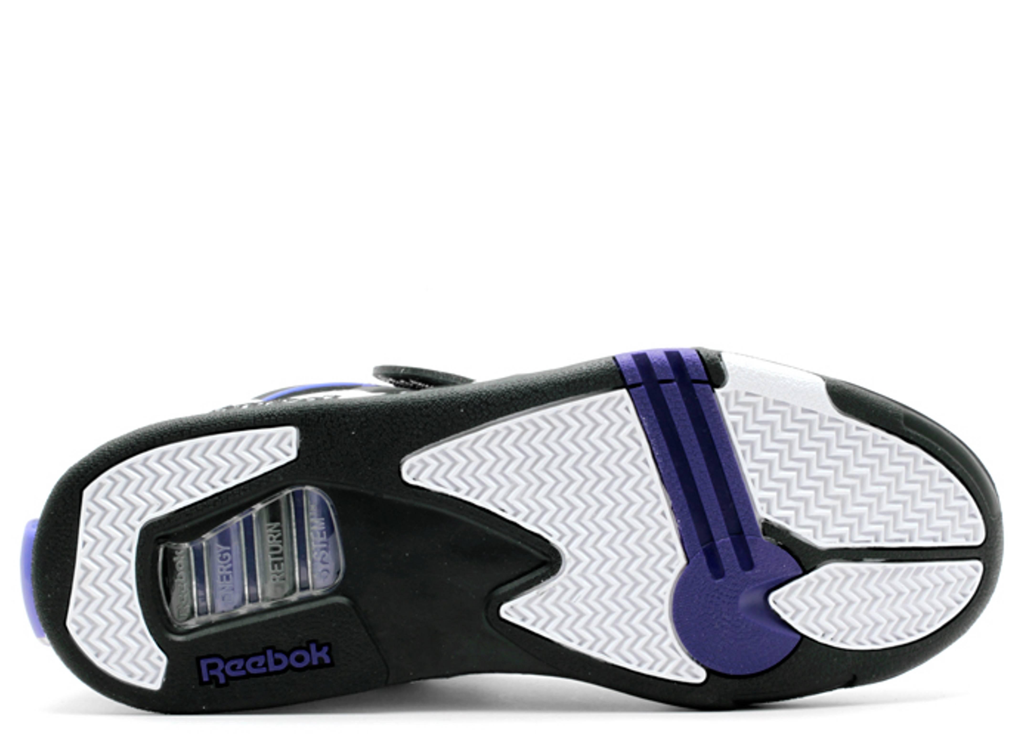 Pump Omni Zone - Reebok - j19441 - white team purple black  8cda8029c9