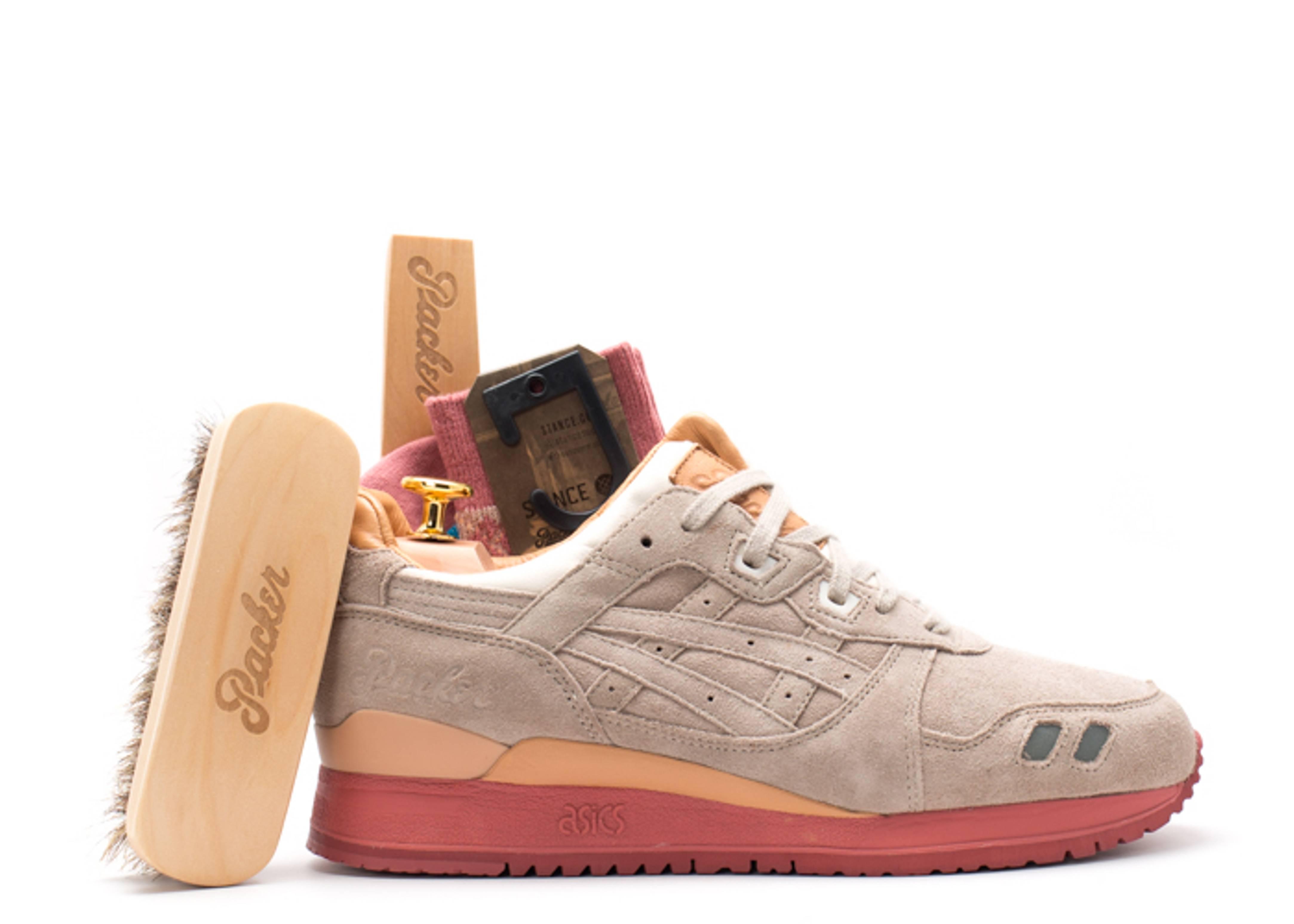 "gel lyte 3 ""packer shoe dirty buck 25 anniversary special box"""