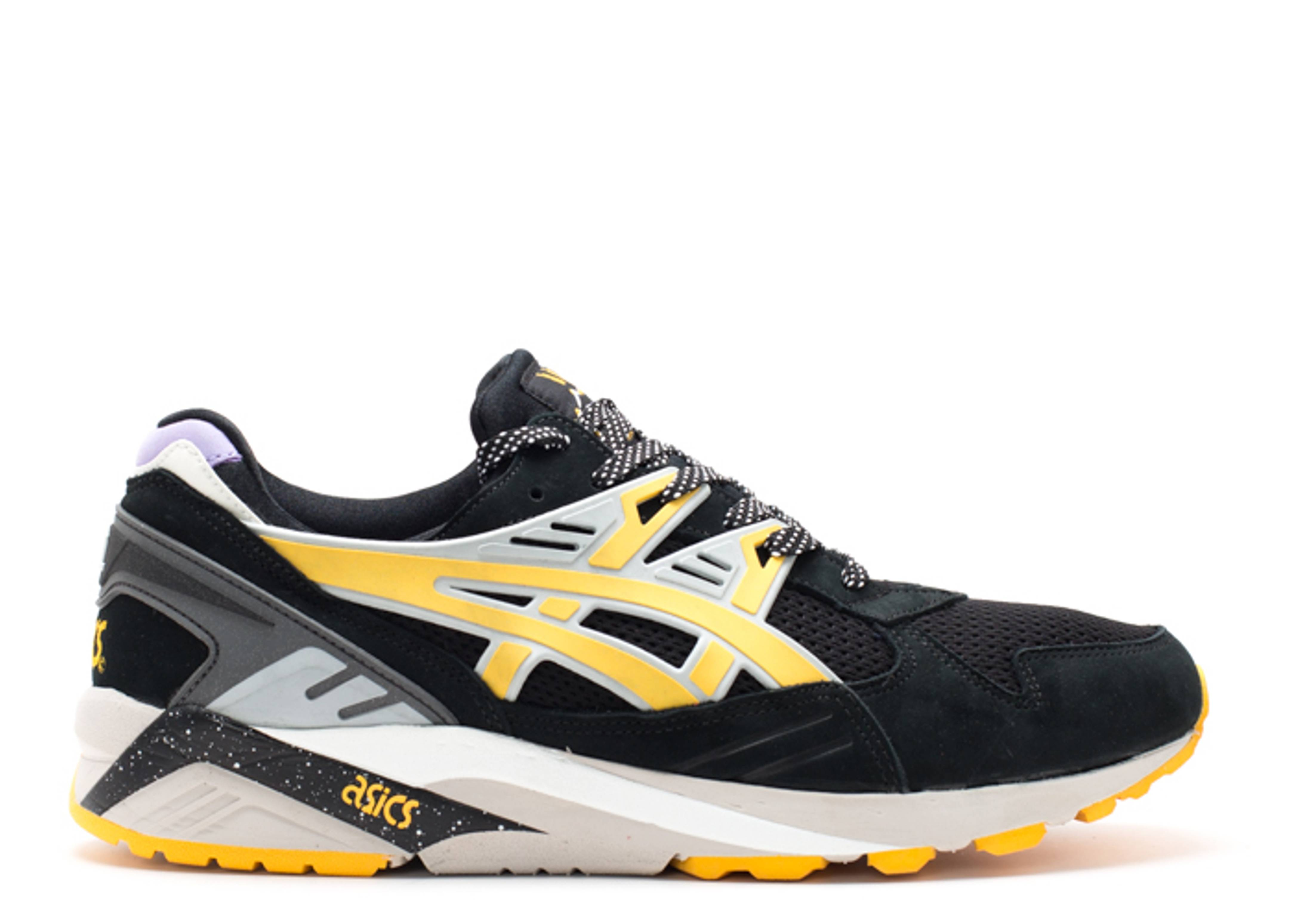 quality design adf13 e16a7 Gel Kayano Trainer - Asics - h43hk9005 - black/yellow ...