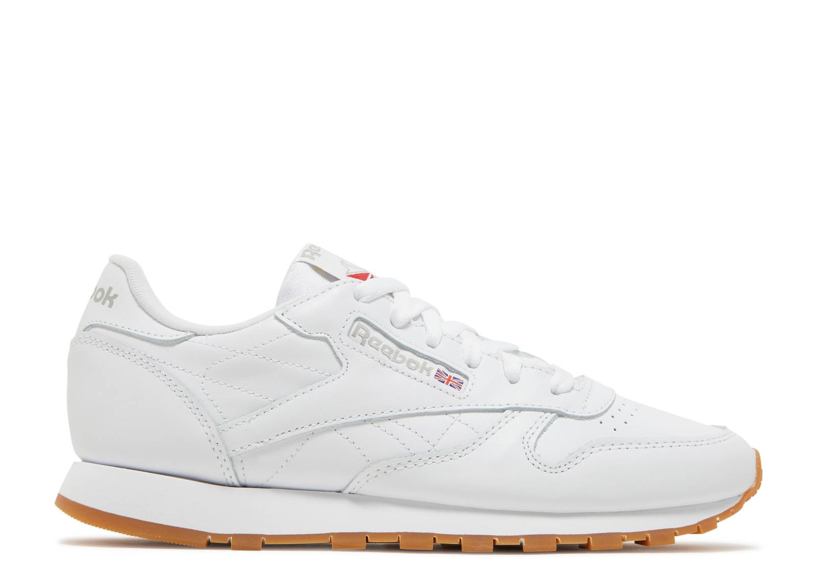 2f509efb6a6645 Cl Lthr - Reebok - 49801 - white gum