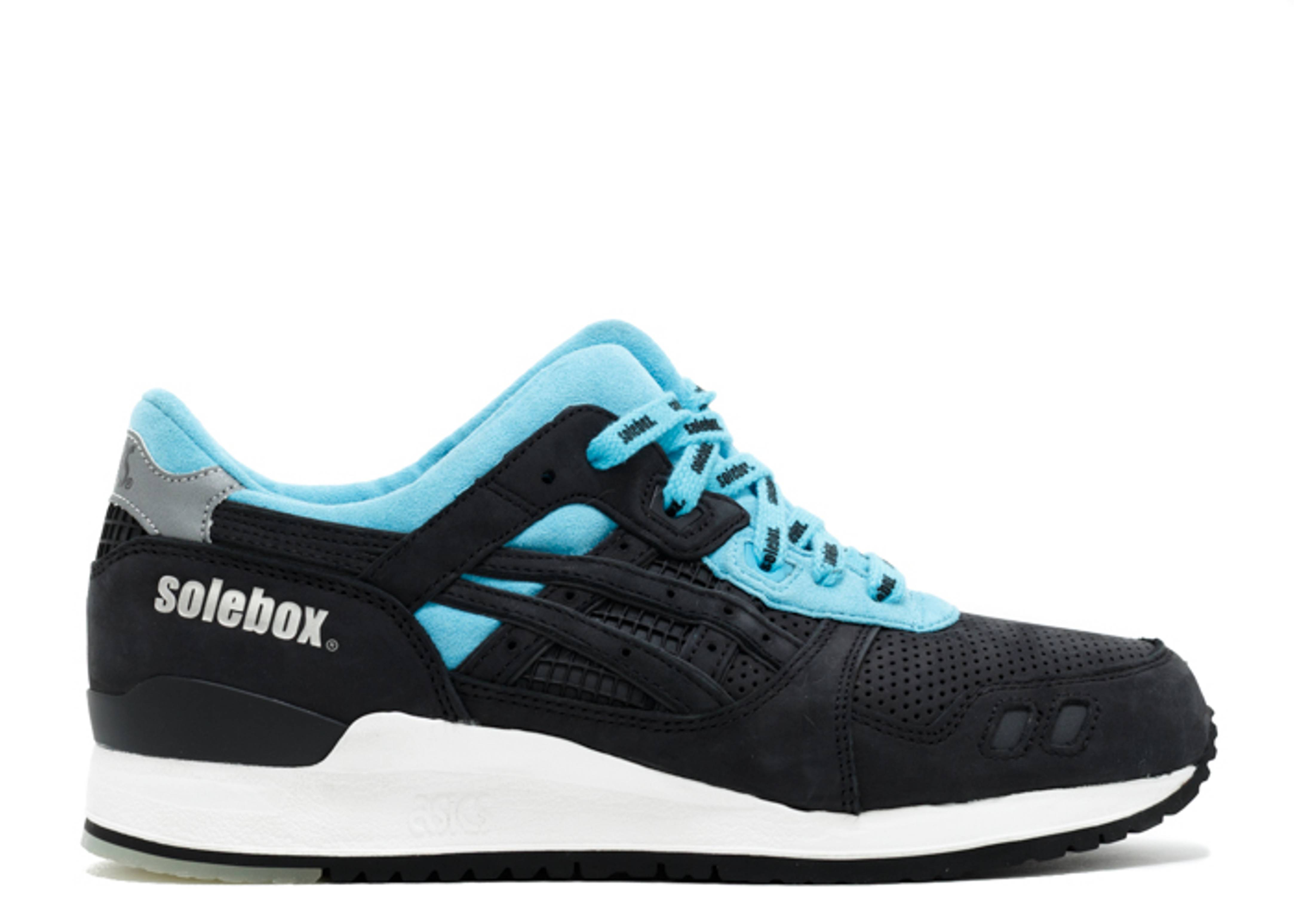 "gel-lyte 3 ""soleboxx blue carpenter bee"""