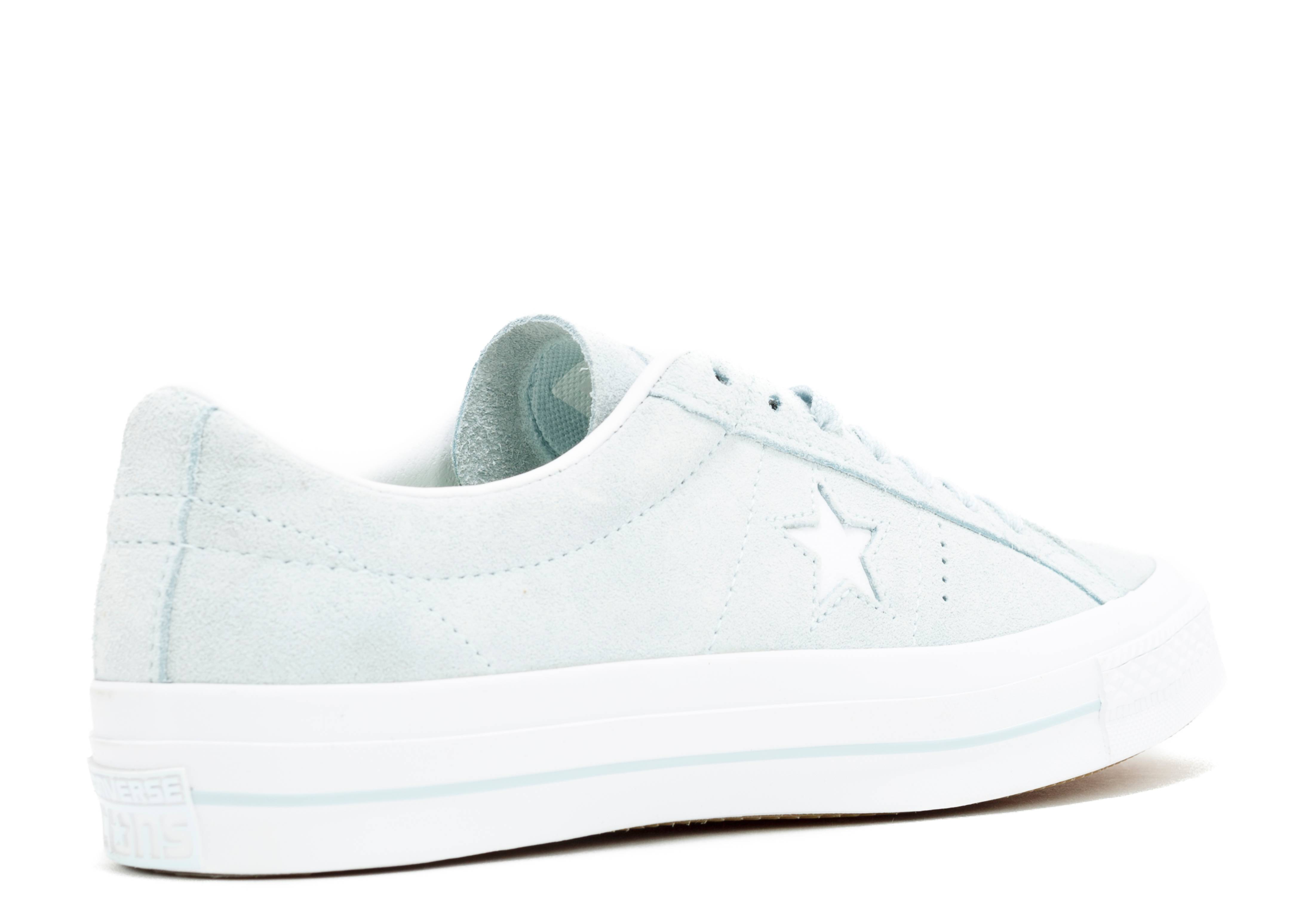 78e727c9108e One Star Suede Ox - Converse - 153963c - polar blue white white ...